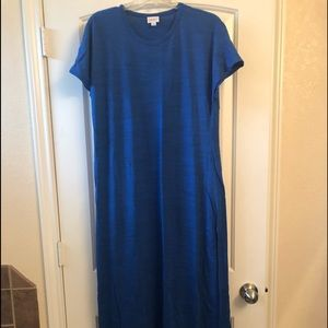 Lularoe Maria in Royal Blue ❤️ EUC